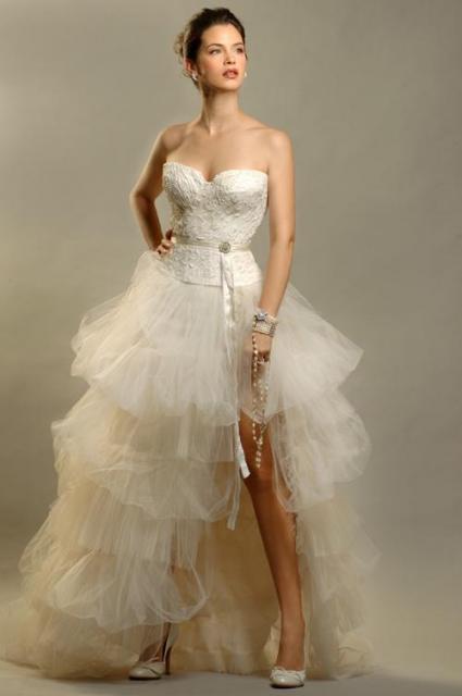 Conjunto corset y pollera tules, Ezequiel García | Casamientos Online