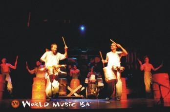 El Choque Urbano en World Music BA