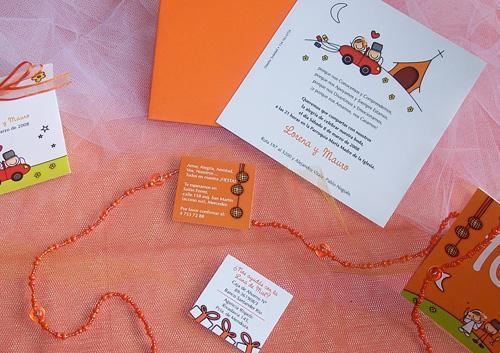 Invitar con colores | Casamientos Online