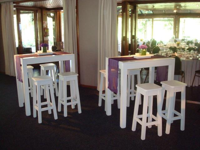 Mesas altas para recepci n producto de sol de oto o sobre - Mesas altas de bar ...