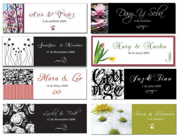 Crear tarjetas para souvenirs - Imagui