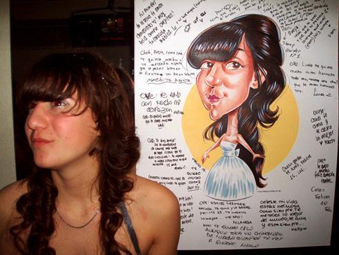 Caricaturistas en World Music BA