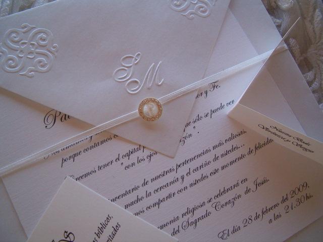 tarjetas de casamiento elegantes | Casamientos Online