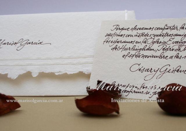 Marisol García Invitaciones | Casamientos Online