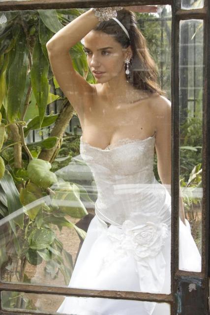 Vestido Corset, Ezequiel García | Casamientos Online