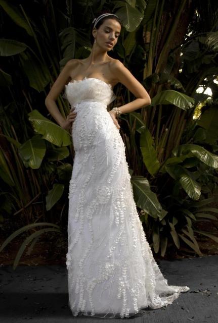 Vestido Strapless, Ezequiel García   Casamientos Online