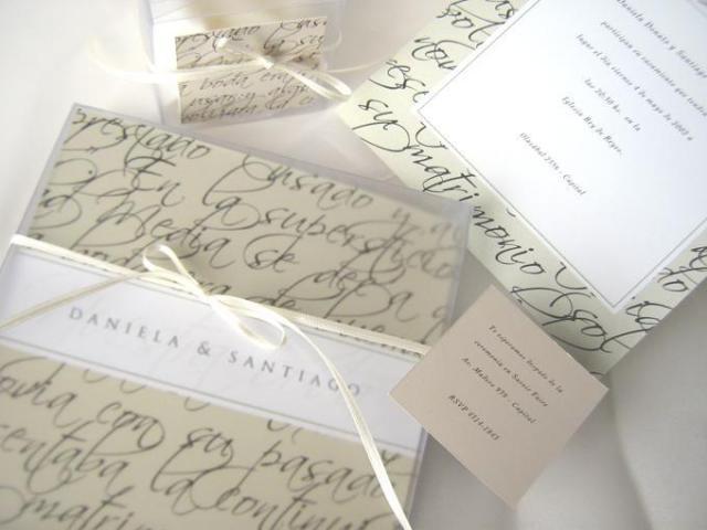 Modelo Calligraphy