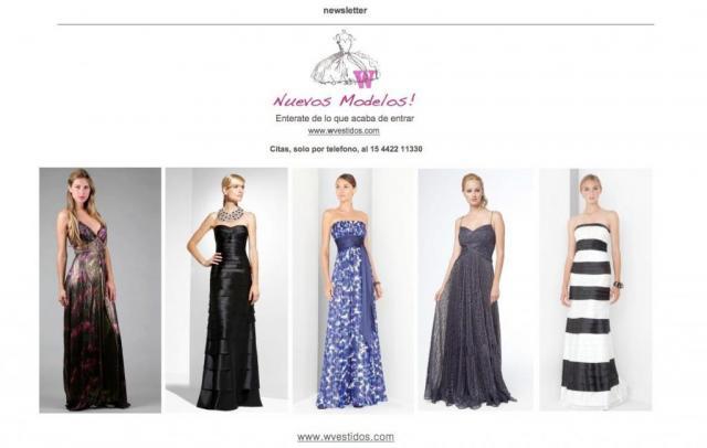 W - Vestidos    Casamientos Online