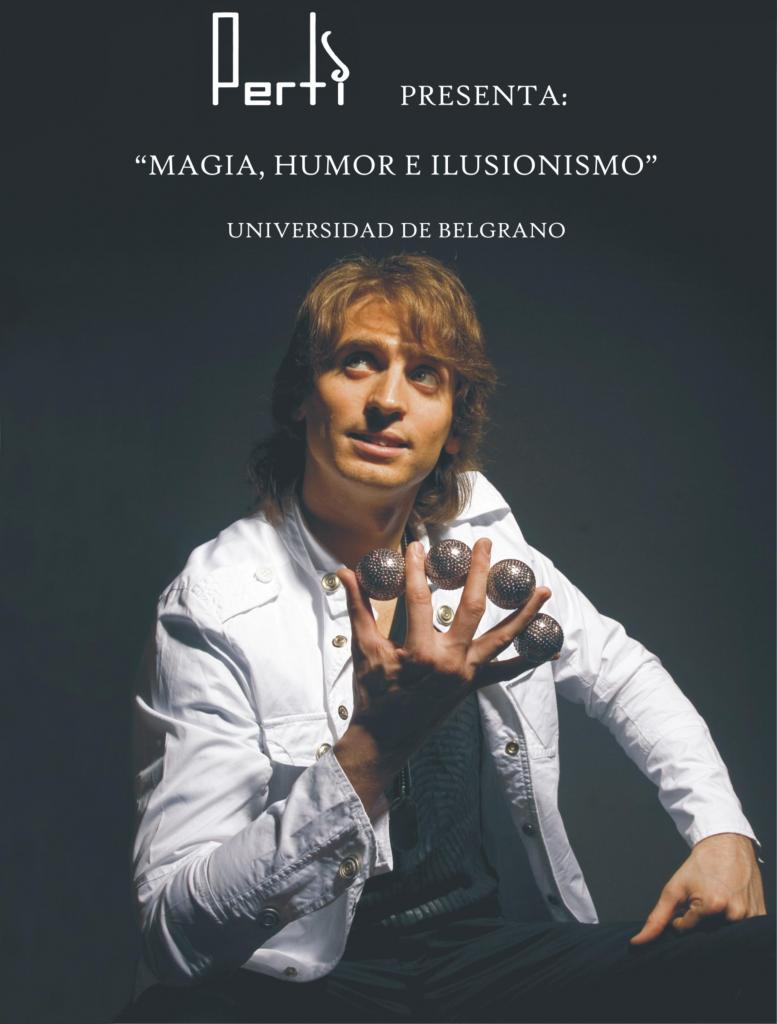 Perti: Magia-Humor-Ilusionismo ¡El show que revoluciona las bodas!