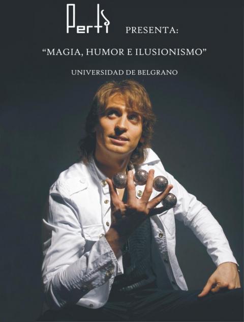 Perti: Magia-Humor Stand up & Chistes-Ilusionismo-Canciones