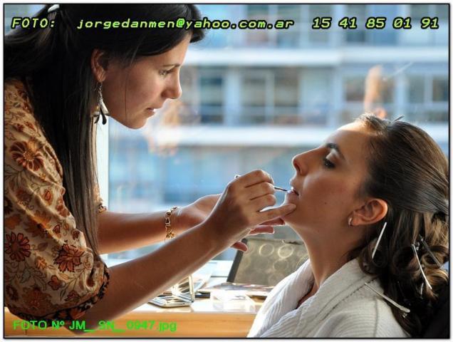 Soledad Rey Make Up y Peinado | Casamientos Online