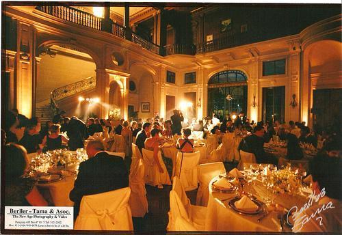 Cena Formal en Salón Imperial | Casamientos Online