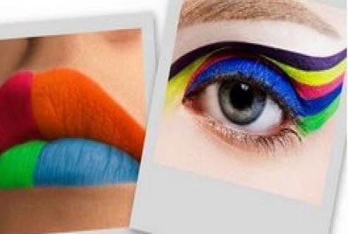 Purpurina Make up