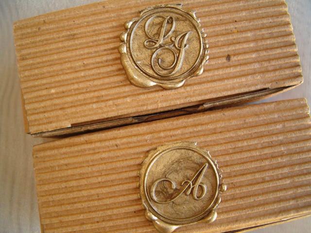sellos de bronce para lacrar  | Casamientos Online