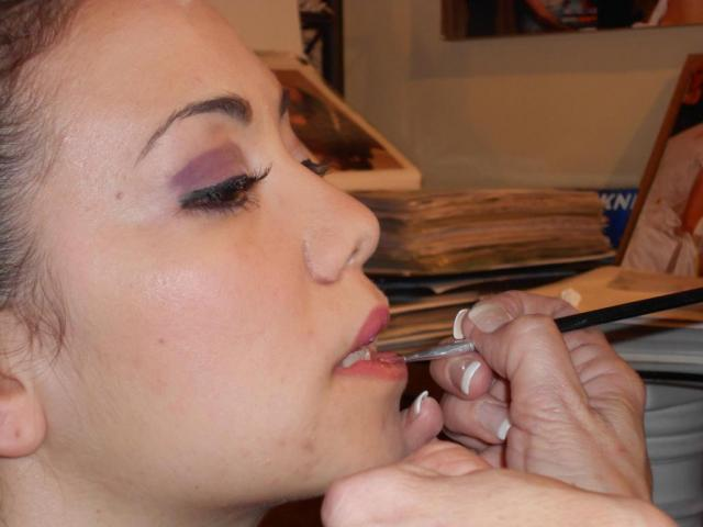 Pruebas de Maquillaje y Peinado