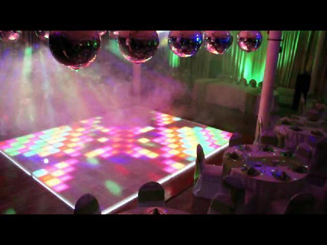 Pista de Baile de LEDs