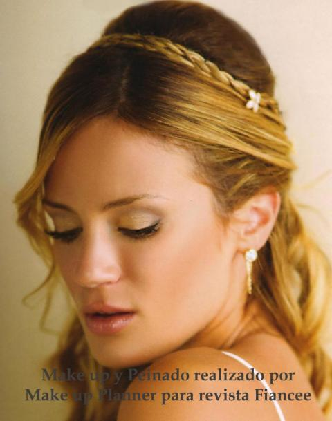 PROMO: MAKE UP Y PEINADO CIVIL Y BODA ( ambos a domicilio)+ PRUEBAS +  RAMO
