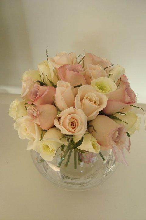 esferas de rosas