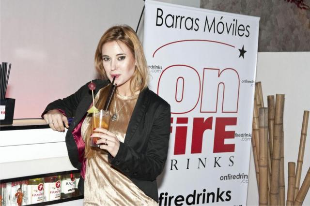 On fire drinks | Casamientos Online
