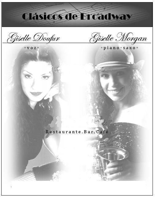 TRÍO de JAZZ- PELÍCULAS - BROADWAY ( 2 Músicos + 1 cantante)