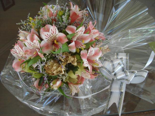 Bouquet para madrina - dama de cortejo