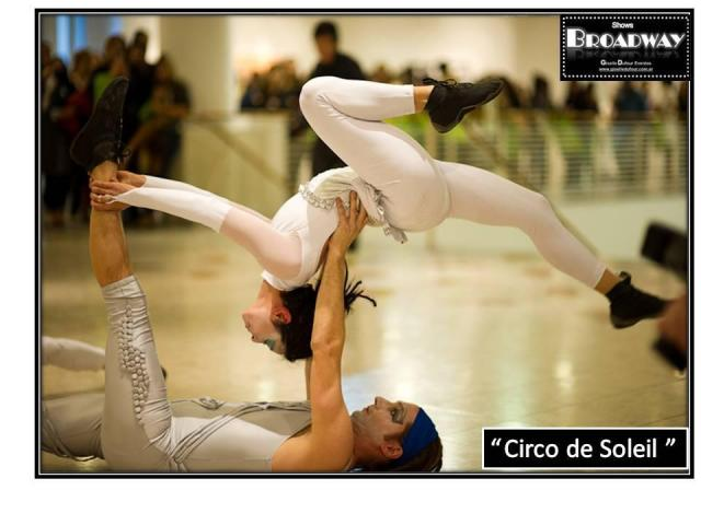 Cirque du Soleil. Shows BROADWAY by Giselle ufour Eventos | Casamientos Online
