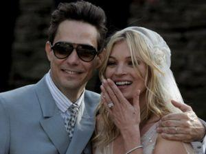 Kate Moss: Glam Rock Wedding!