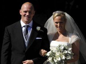 La nieta de la Reina Isabel se casó con el rugbier Mike Tindall!