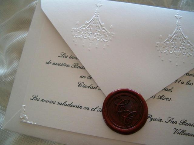 Tarjeta Chandelier