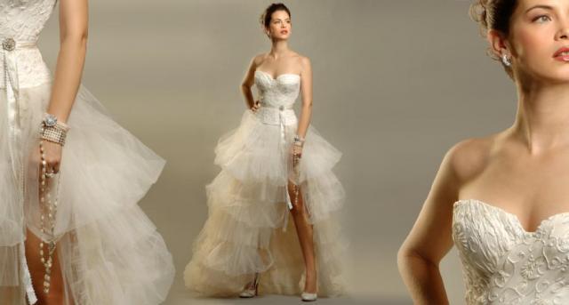 Conjunto corset y pollera de tules, Ezequiel Garcia | Casamientos Online
