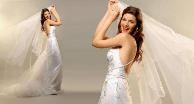 Vestido espalda descubierta, Ezequiel García | Casamientos Online