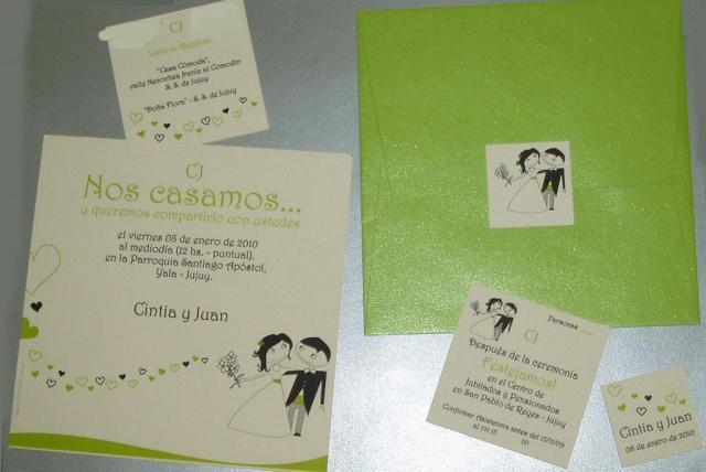 Isurus Invitaciones (Participaciones)