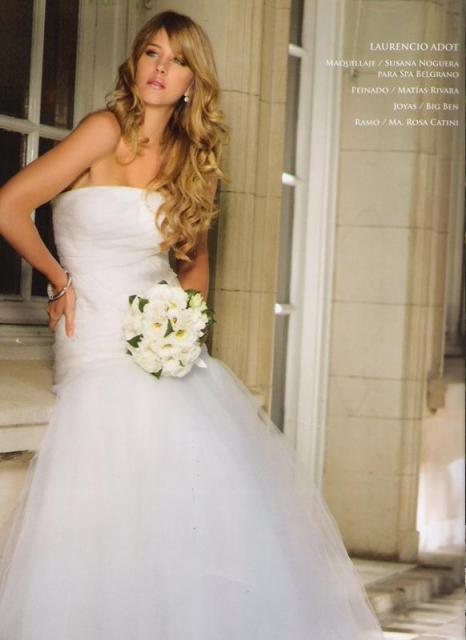 Producción junto a Revista Fiancee para Laurencio Adot | Casamientos Online