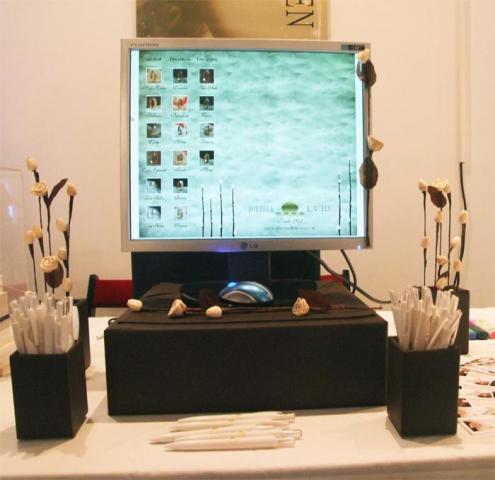Stand Joyeria Big Ben en Jornadas CasamientosOnline Mayo 2011 | Casamientos Online