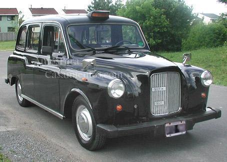 Austin Martin 68 Taxi inglés | Casamientos Online