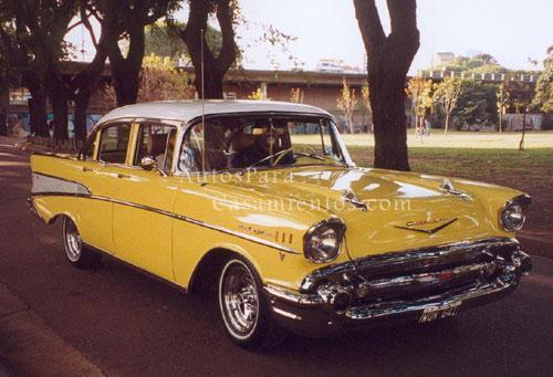 Chevrolet Bel Air 57 | Casamientos Online