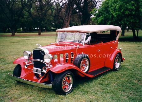 Chevrolet 32 rojo | Casamientos Online