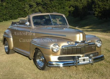 Mercury 47 cabrio | Casamientos Online