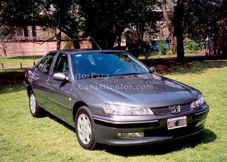 Peugeot 406 gris osc | Casamientos Online