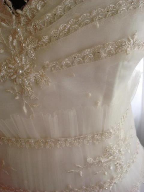 tul plisado...   Casamientos Online