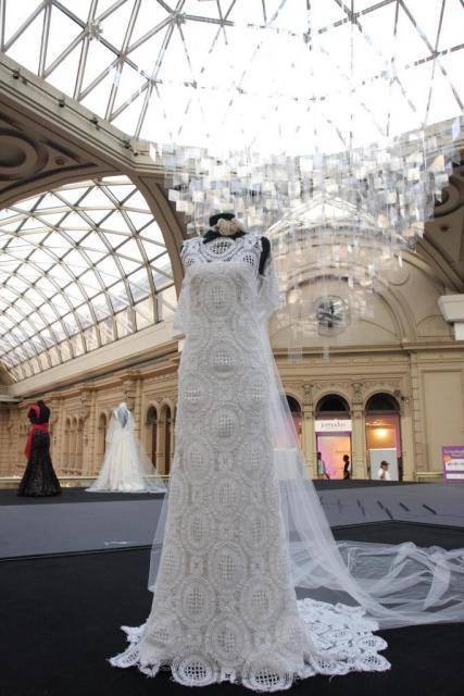 Vestidos de novia en la cupula