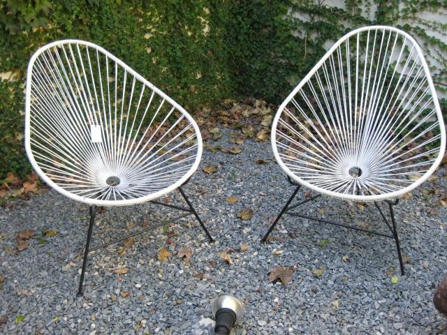Sillas acapulco precio: pe de mimbre redonda acero silla acapulco ...