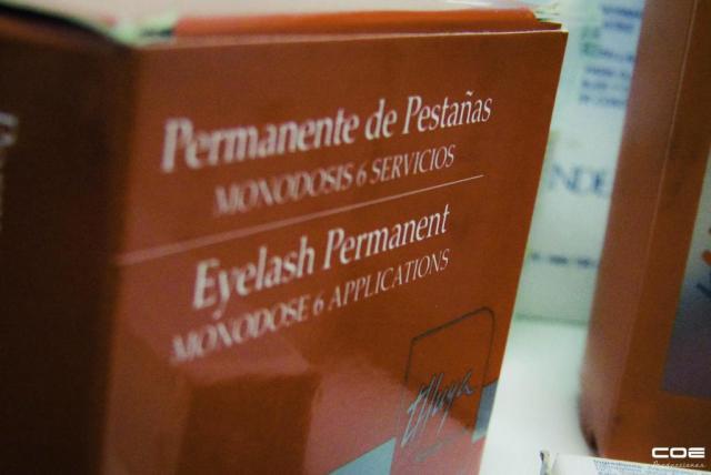 Permanente y tintura de pestañas