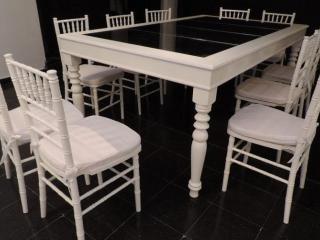 Mesas Espejadas Tiffany Producto De Sillas Tiffany