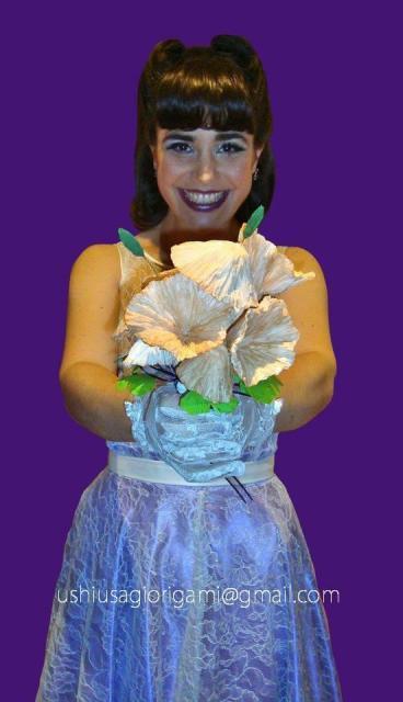 Ramo de novia. Ramo de hongos. Ramo de papel | Casamientos Online