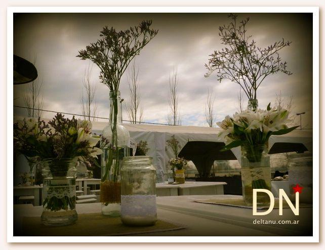 Delta Nu (Ambientación y centros de mesa)