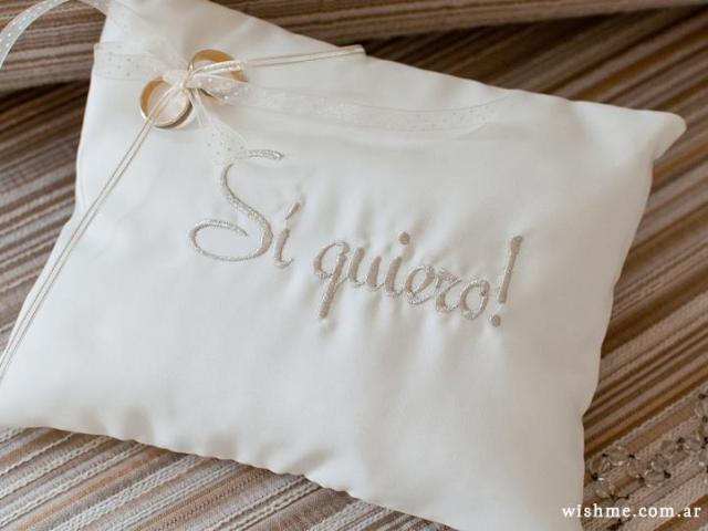 Almohadón para los an... | Casamientos Online