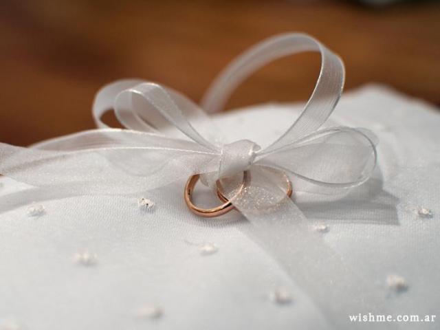 Almohadón para los anillos | Casamientos Online