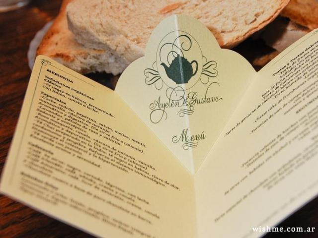 Menú | Casamientos Online