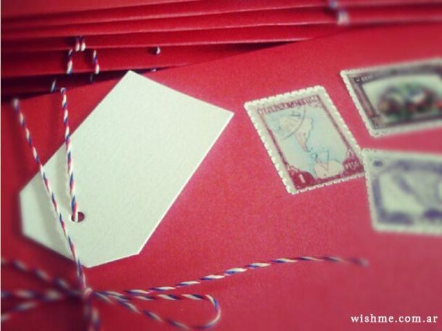 Wish - Invitación de boda postal | Casamientos Online
